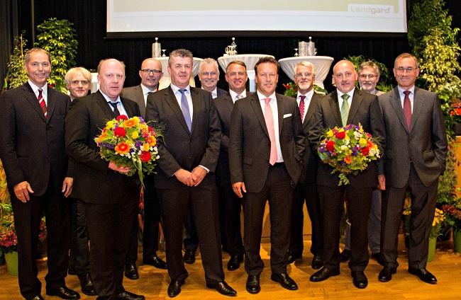 Landgard Vorstand u. Aufsichtsrat 2014