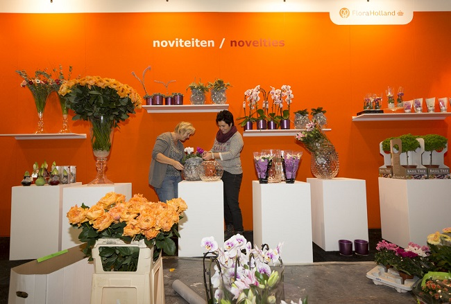 AALSMEER - FLORAHOLLAND - TRADE FAIR 2013