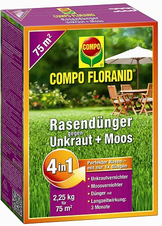 COMPO_Floranid_Rasendünger_4in1