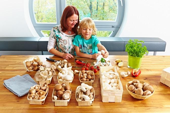 Bildunterschrift: Viele Speisepilze lassen sich das ganze Jahr über in gleichbleibend guter Qualität von Menschenhand kultivieren. (Bildnachweis: GMH/BDC)