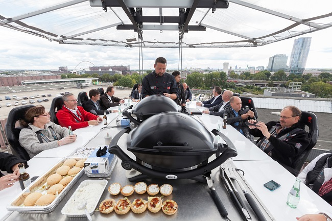 Grilling in the Sky, P1