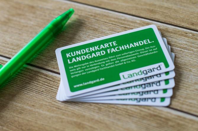 Landgard_Kundenkarte Fachhandel