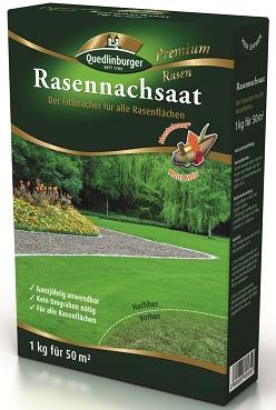 Quedlinburger Rasennachsaat