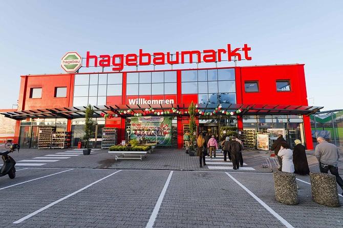 Der neue hagebaumarkt in Hückelhoven eröffnete am 28. September.