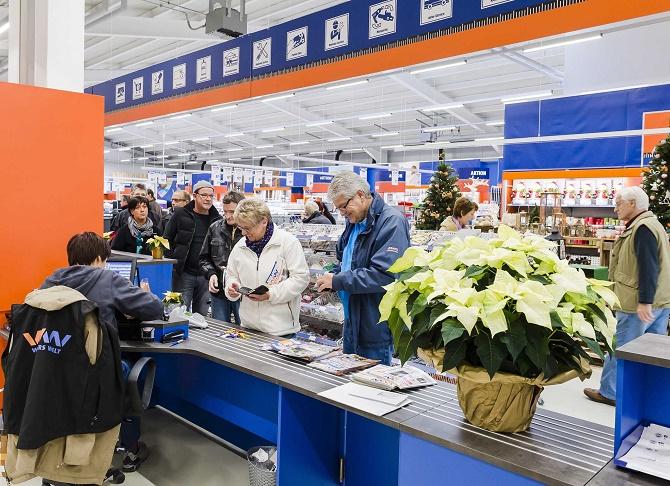 Der neue Werkers Welt Standort in Herxheim wird vom ersten Tag an sehr gut angenommen.