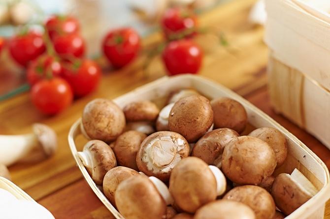 Bildunterschrift: Zu viel Harnsäure im Blut? Dann sind häufige Pilzmahlzei-ten genau der richtige Weg, um drohenden Gichtattacken vorzubeugen. (Bildnachweis: GMH/BDC)