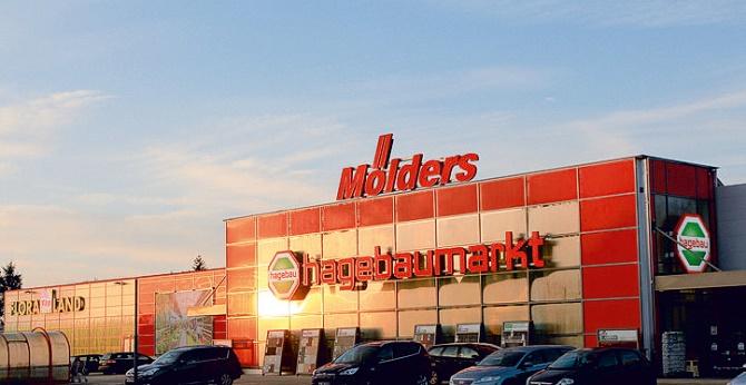 Neuer hagebaumarkt mit FLORALAND in Adendorf bei Lüneburg (Niedersachsen)