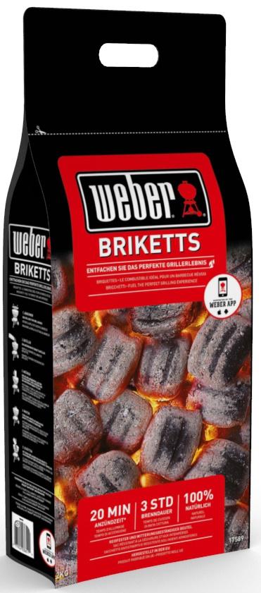 Weber-Stephen bringt neue und innovative Grillbriketts auf den Markt. (Foto: www.weber.com)
