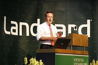 Landgard_Armin Rehberg_Vertreterversammlung 2016
