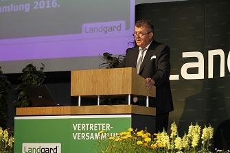 Landgard_Bert Schmitz_Vertreterversammlung 2016