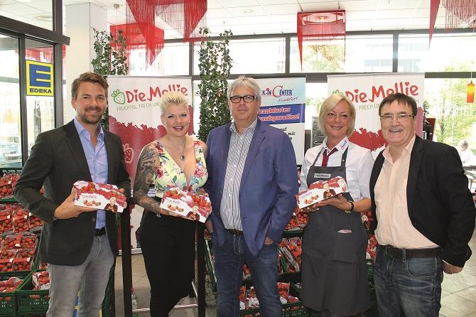 Landgard_Die Mellie_Promotion-Aktion Frankfurt