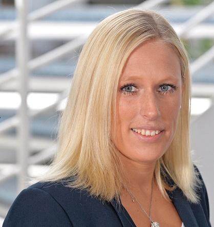 Ann-Christin Telge freut sich über den hervorragenden dritten Platz im Ranking.