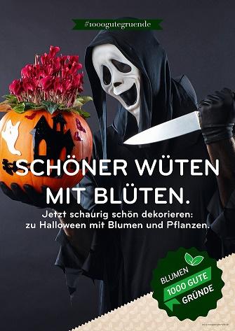 Halloween-Poster sind in den Landgard Cash & Carry Märkten erhältlich.