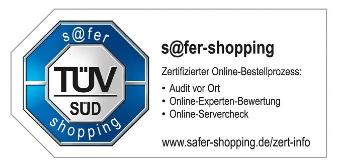 Zertifiziert: Alle hagebau Fachhändler, die einen Online-Shop auf Basis der zentral entwickelten Webshop-Lösung betreiben, dürfen jetzt das TÜV-Siegel zeigen.