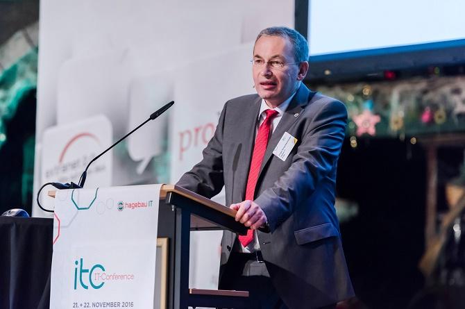 Co-Geschäftsführer Jürgen Schachtschneider betonte die Notwendigkeit höherer Investitionen in die IT.