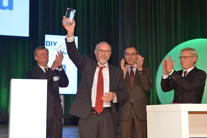 Diy lifetime award 2016 manfred valder f r lebenswerk for Innendekorateur aufgaben